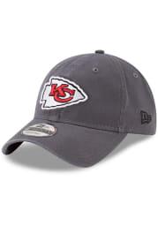 New Era Kansas City Chiefs Core Classic Twill 9TWENTY Adjustable Hat - Grey