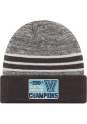 New Era Villanova Wildcats Charcoal 2018 National Champion Marled Mens Knit Hat