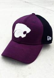 New Era K-State Wildcats Mens Purple HD Screen 39THIRTY Flex Hat