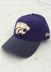 New Era K-State Wildcats Toned Down 9TWENTY Adjustable Hat - Purple