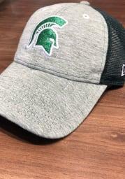 New Era Michigan State Spartans Green Spaced Dye Mesh LS 9TWENTY Womens Adjustable Hat