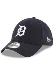 New Era Detroit Tigers Navy Blue 2018 Team Classic Home Jr 39THIRTY Youth Flex Hat