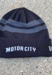 New Era Detroit Pistons Blue 2018 City Series Mens Knit Hat