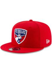 New Era FC Dallas Red Basic 9FIFTY Mens Snapback Hat