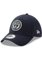 New Era Philadelphia Union Mens Navy Blue Basic 39THIRTY Flex Hat