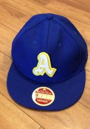 New Era Philadelphia Athletics Blue 1950 Retro-Crown 9FIFTY Mens Snapback Hat