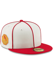 New Era St Louis Cardinals Mens White 1926 World Series Side Patch 59FIFTY Fitted Hat