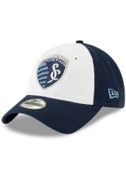 New Era Sporting Kansas City White JR Core Classic 9TWENTY Youth Adjustable Hat