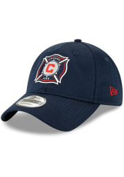 New Era Chicago Fire 2019 Official 9TWENTY Adjustable Hat - Navy Blue