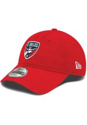 New Era FC Dallas Wool 9TWENTY Adjustable Hat - Red