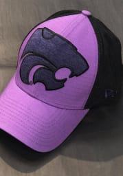 New Era K-State Wildcats Mens Purple Mega Rip Mesh 39THIRTY Flex Hat