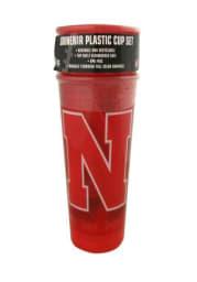 Nebraska Cornhuskers 20oz 4 pk Disposable Cups