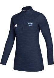Florida Atlantic Womens Navy Blue Game Mode 1/4 Zip Pullover