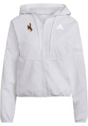 Wyoming Cowboys Womens Hood Long Sleeve Full Zip Jacket