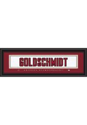 Paul Goldschmidt Arizona Diamondbacks 8x24 Framed Posters