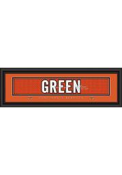 AJ Green Cincinnati Bengals 8x24 Signature Framed Posters