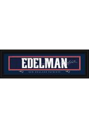 Julian Edelman New England Patriots 8x24 Signature Framed Posters