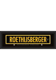 Ben Roethlisberger Pittsburgh Steelers 8x24 Signature Framed Posters