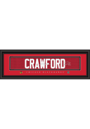 Corey Crawford Chicago Blackhawks 8x24 Signature Framed Posters