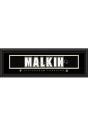 Evgeni Malkin Pittsburgh Penguins 8x24 Signature Framed Posters
