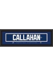 Ryan Callahan Tampa Bay Lightning 8x24 Signature Framed Posters