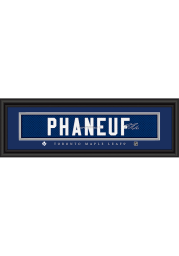 Dion Phaneuf Toronto Maple Leafs 8x24 Signature Framed Posters