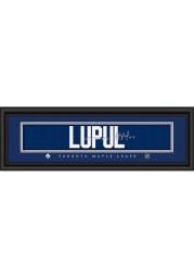 Joffery Lupul Toronto Maple Leafs 8x24 Signature Framed Posters