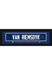James van Riemsdyk Toronto Maple Leafs 8x24 Signature Framed Posters
