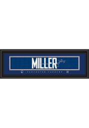 Ryan Miller Vancouver Canucks 8x24 Signature Framed Posters