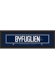 Dustin Byfuglien Winnipeg Jets 8x24 Signature Framed Posters