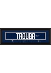 Jacob Trouba Winnipeg Jets 8x24 Signature Framed Posters