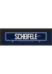 Mark Scheifele Winnipeg Jets 8x24 Signature Framed Posters