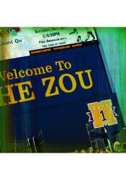 Missouri Tigers The Zou Stone Tile Coaster