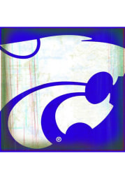 K-State Wildcats Powercat Stone Tile Coaster