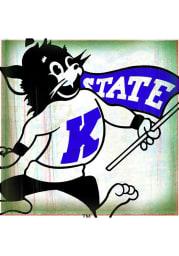 K-State Wildcats Retro Willie Stone Tile Coaster
