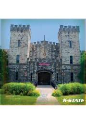 K-State Wildcats Nichols Hall Stone Tile Coaster