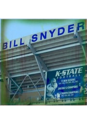 K-State Wildcats Bill Snyder Family Stadium Stone Tile Coaster