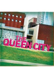Cincinnati Sing the Queen City Sign 4x4 Coaster