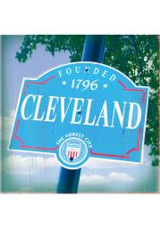 Cleveland Founded 1796 Stone Tile Coaster
