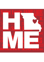 St Louis Home State Stone Tile Coaster