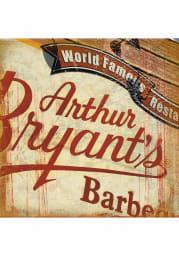 KC BBQ Arthur Bryants 4x4 Coaster