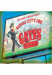 KC BBQ Gates BBQ 4x4 Coaster