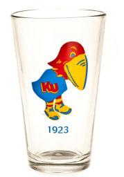 Kansas Jayhawks 16oz 1923 Pint Glass