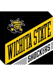 Wichita State Shockers Wood Block Sign