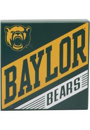 Baylor Bears Deep Wood Block Sign