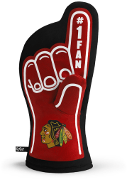 Chicago Blackhawks #1 Fan BBQ Grill Mitt