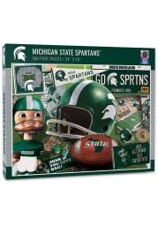 Michigan State Spartans 500 Piece Retro Puzzle