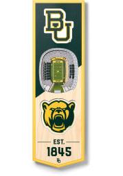 Baylor Bears 6x19 inch 3D Stadium Banner