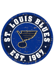 St Louis Blues Vintage Wall Sign