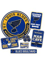 St Louis Blues Ultimate Fan Set Sign